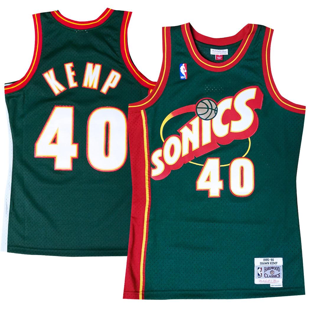 supersonics jersey