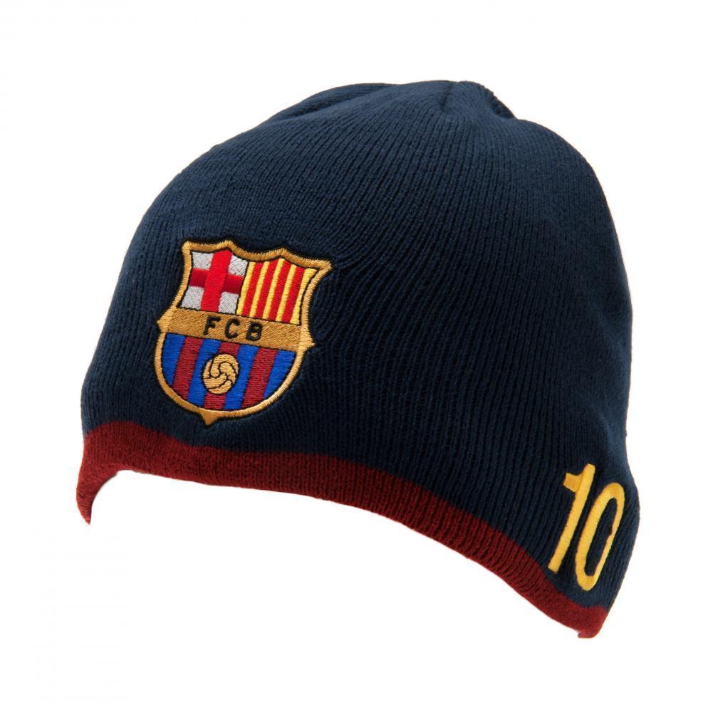 F.C. Barcelona Knitted Hat Messi - Finaali.net 2d90843f159