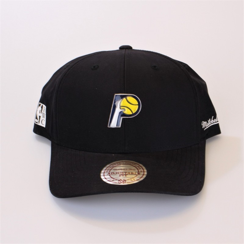 reputable site 9e1bc 248c3 Indiana Pacers Curved Snapback