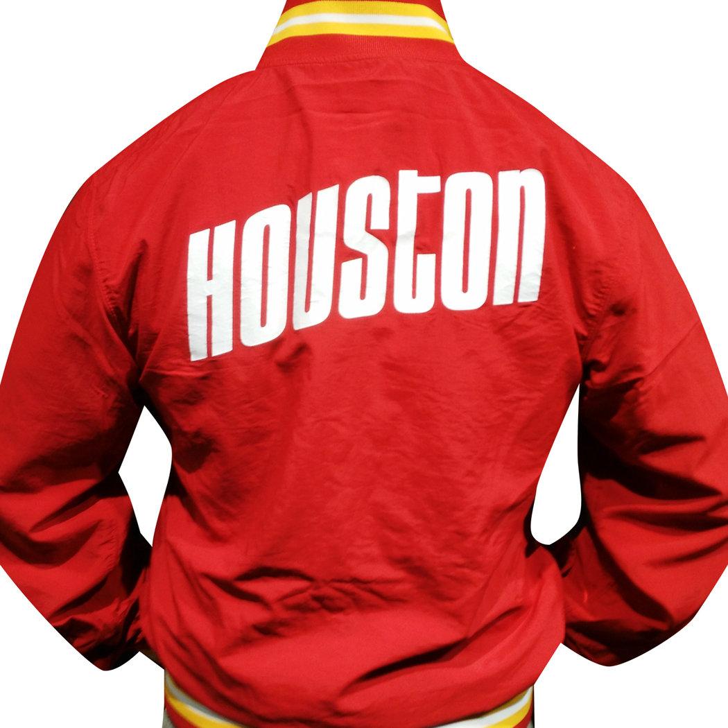 6110b0126 Houston Rockets Jacket, Mitchell & Ness; Houston Rockets Jacket, ...