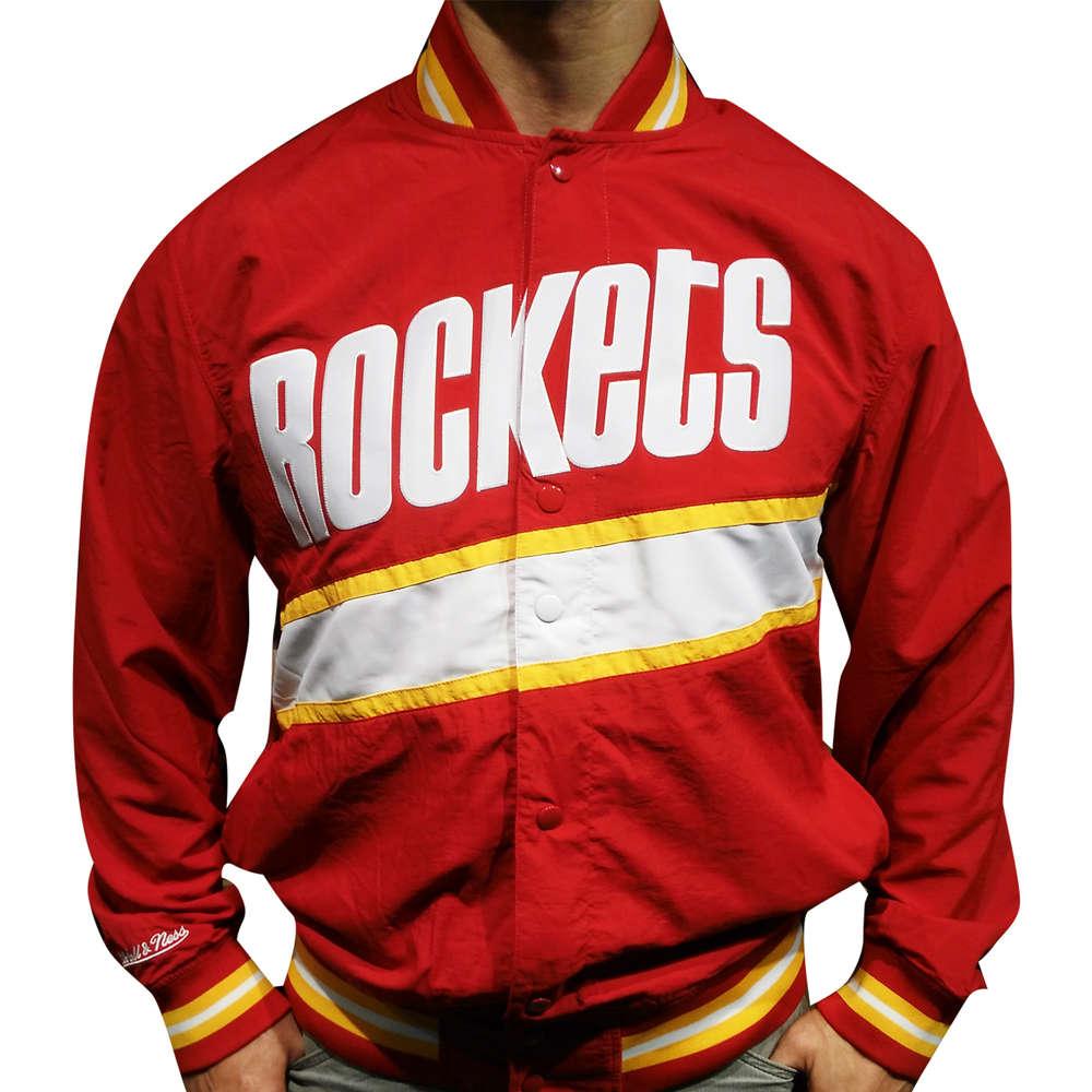 6adf2966e Houston Rockets Jacket, Mitchell & Ness - Finaali.net