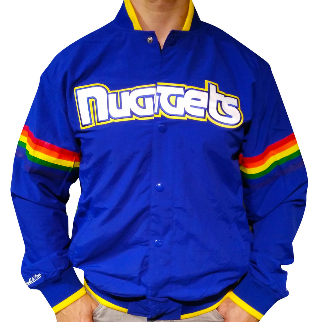 Denver Nuggets Jacket, Mitchell & Ness