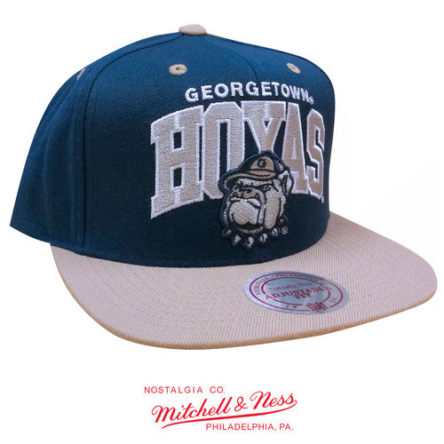Georgetown Hoyas Team Arch Snapback, Mitchell & Ness