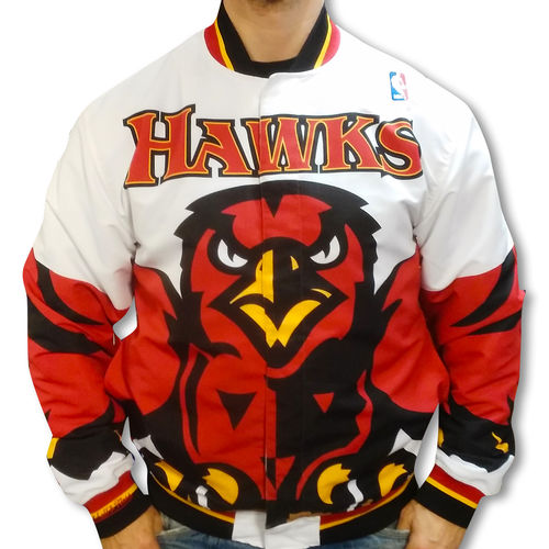 Atlanta Hawks Authentic Warm Up Jacket, Mitchell & Ness
