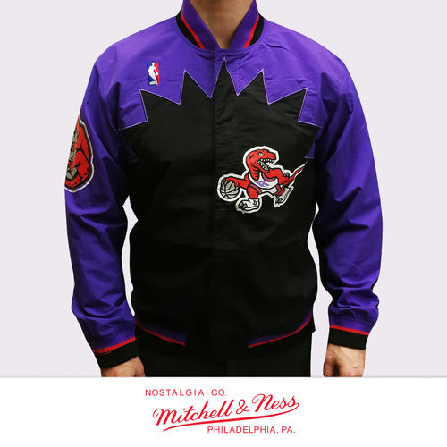 Toronto Raptors Authentic Warm Up Jacket, Mitchell & Ness