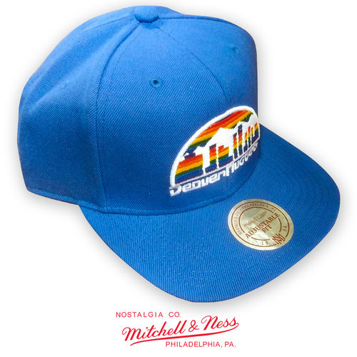 Denver Nuggets Snapback Cap, Mitchell & Ness