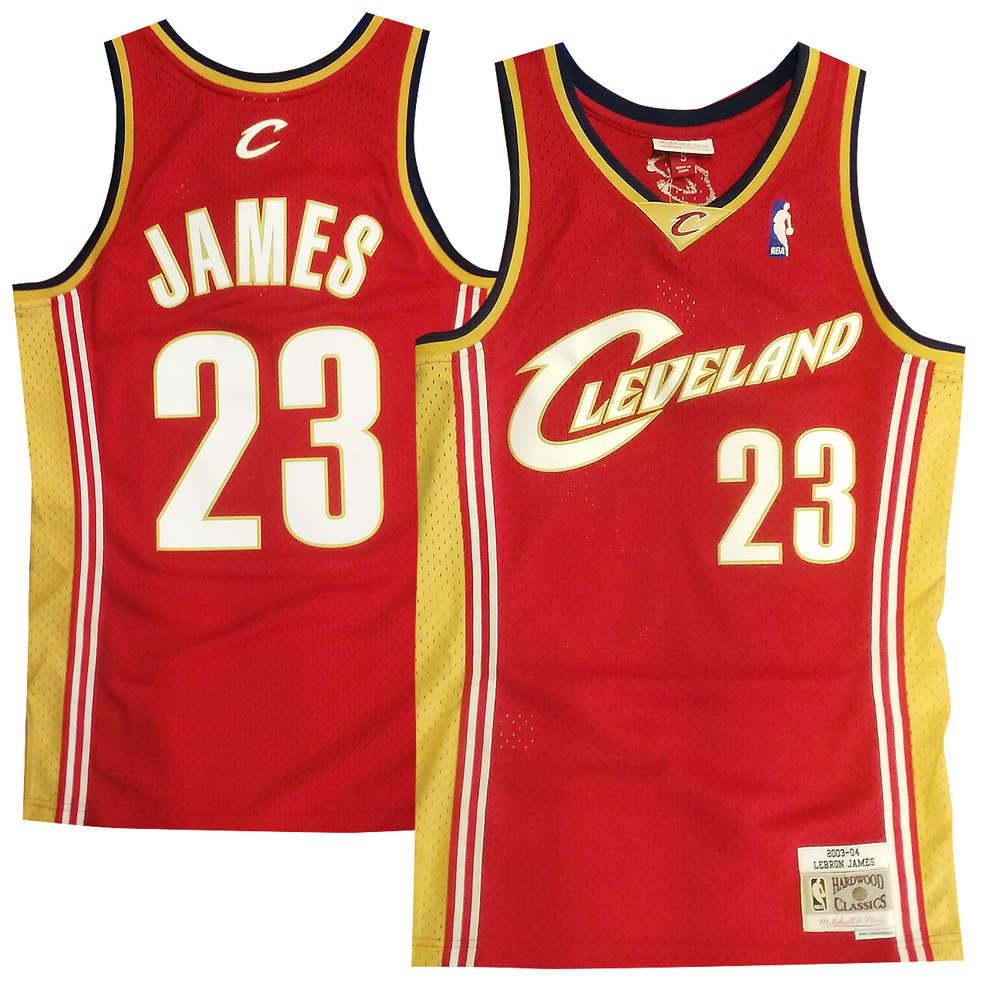 brand new f1a1e 403d1 Cleveland Cavaliers LeBron James Swingman Jersey