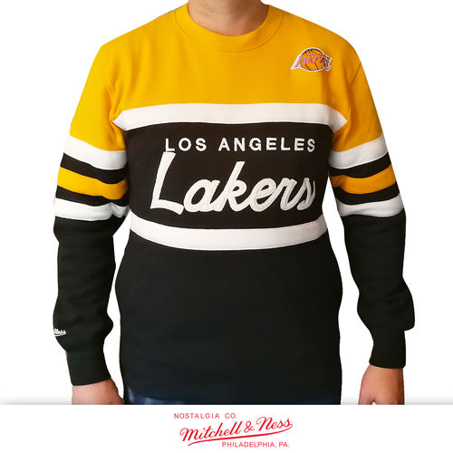 Los Angeles Lakers Head Coach Crew, Mitchell & Ness