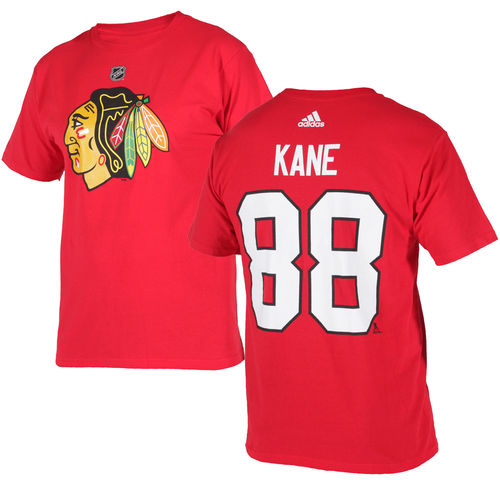 Chicago Blackhawks Kane #88 t-paita, Adidas