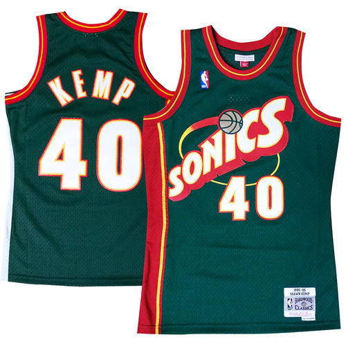 Seattle Supersonics Shawn Kemp Swingman -pelipaita