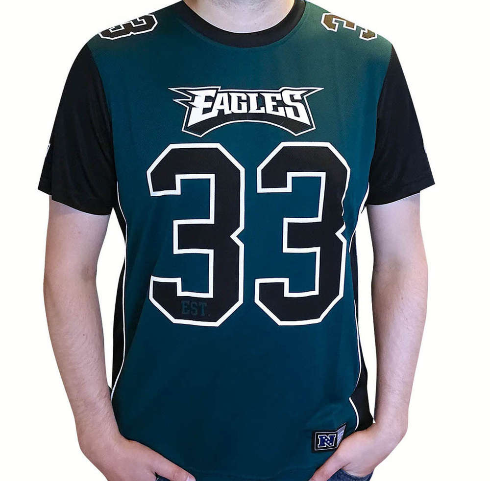 timeless design 18d4b 18f9a Philadelphia Eagles Poly Mesh Jersey Shirt