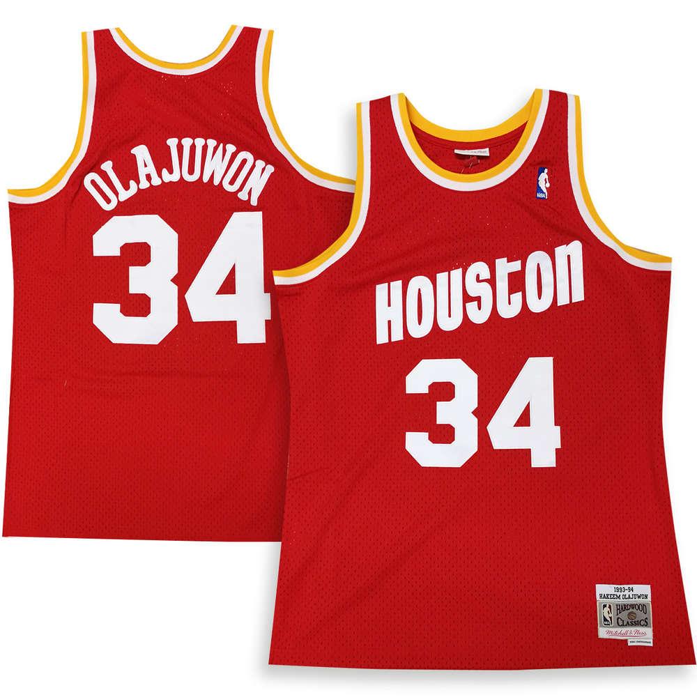 wholesale dealer fac6c 31b11 Houston Rockets Hakeem Olajuwon Swingman Jersey