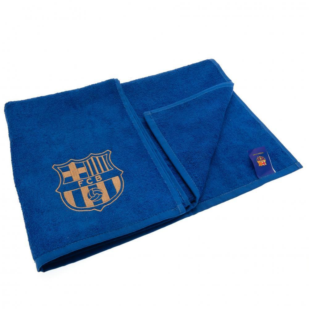 F.C. Barcelona Embroidered Towel