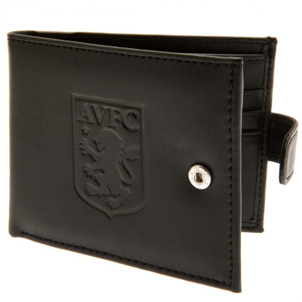 Aston Villa F.C. rfid Anti Fraud Lompakko