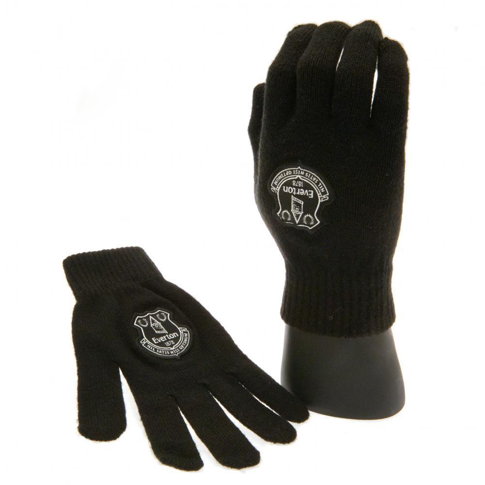 Everton F.C. Knitted Gloves Junior