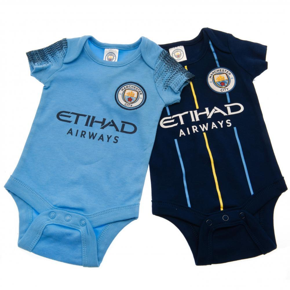 Manchester City F.C. 2 Pack Body 9/12 kk NV