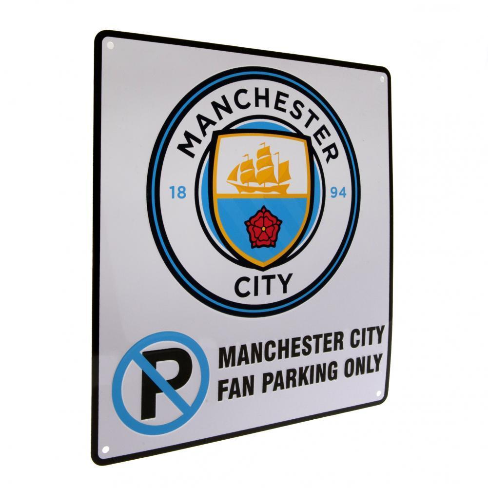 Manchester City F.C. No Parking Kyltti