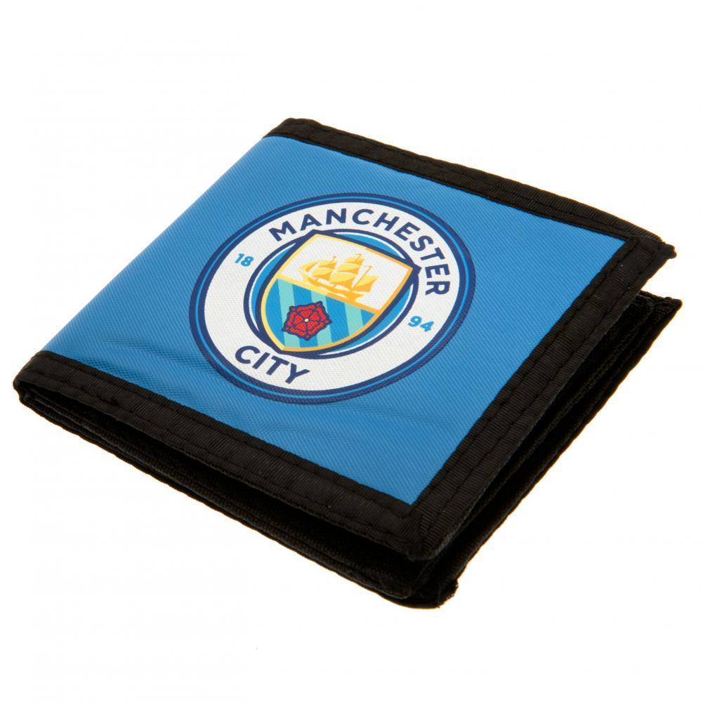 Manchester City F.C. Canvas Lompakko