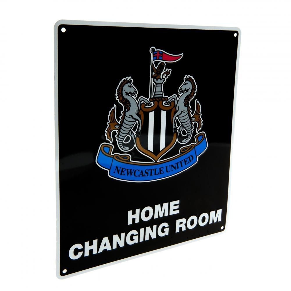 Newcastle United F.C. Home Changing Room Kyltti