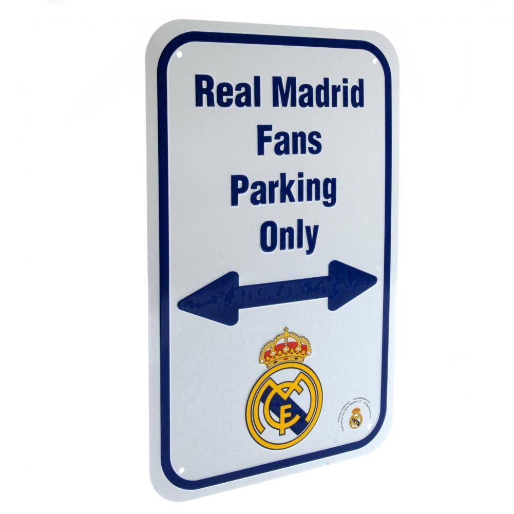 Real Madrid F.C. No Parking Kyltti