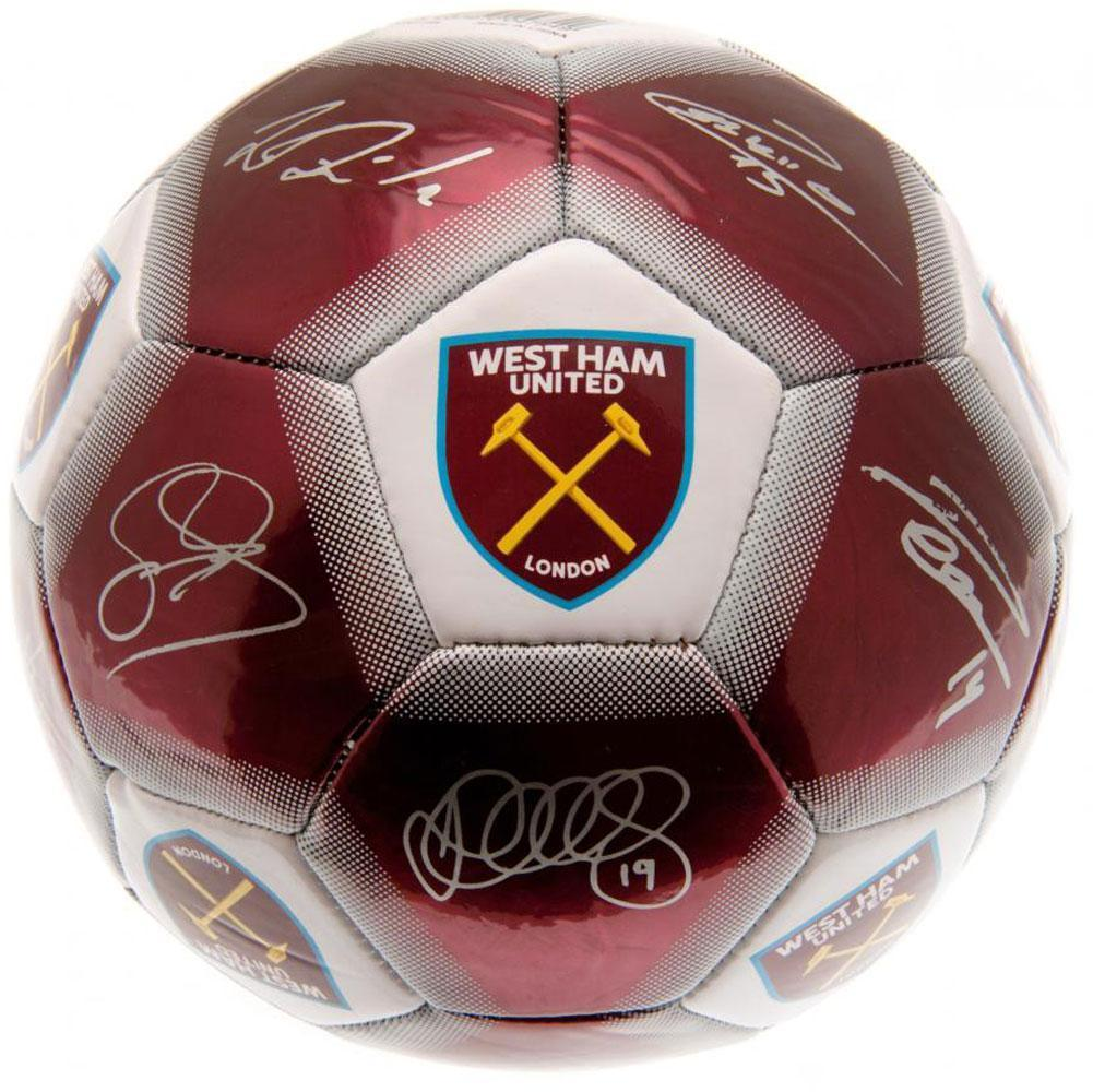 West Ham United F.C. Jalkapallo Signature