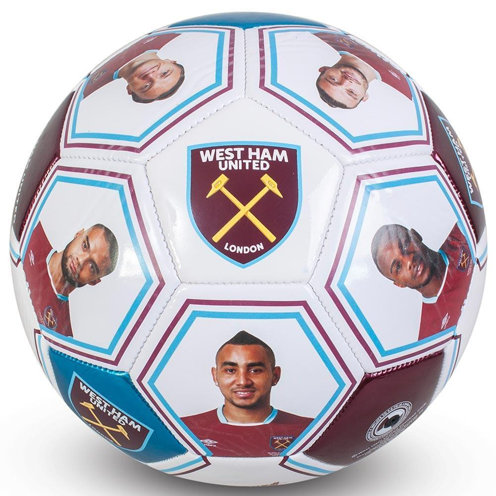 West Ham United F.C. Photo Signature Jalkapallo