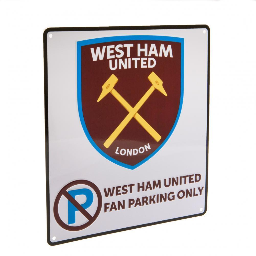 West Ham United F.C. No Parking Kyltti