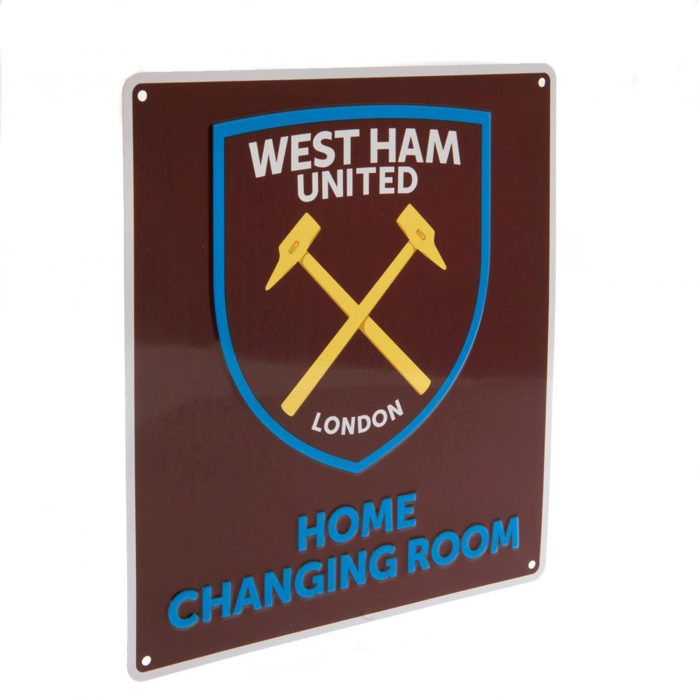 West Ham United F.C. Home Changing Room Kyltti