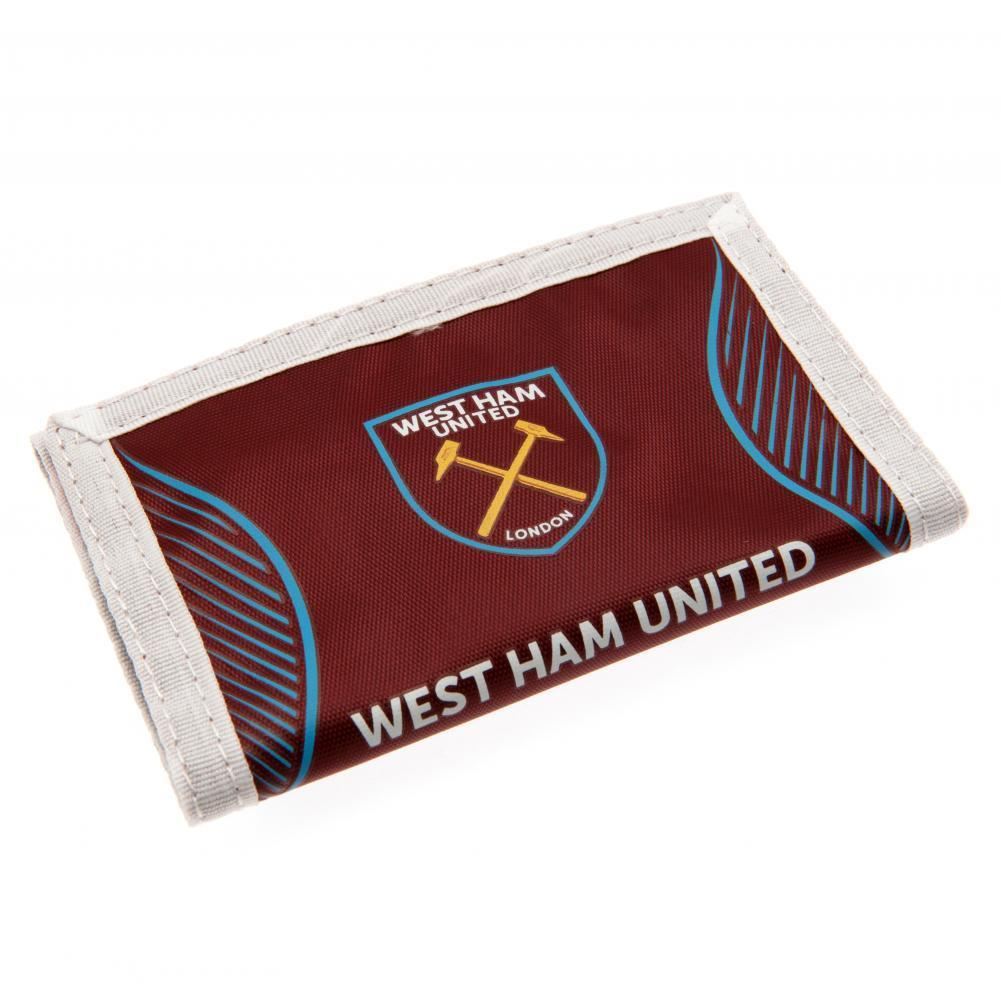West Ham United F.C. Nylon Lompakko SV
