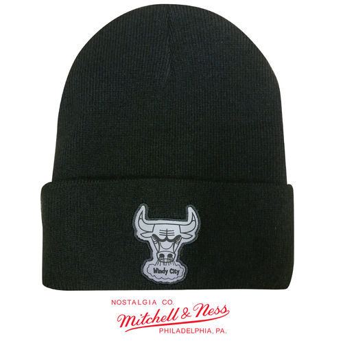 Chicago Bulls Cuff Knit, Mitchell & Ness