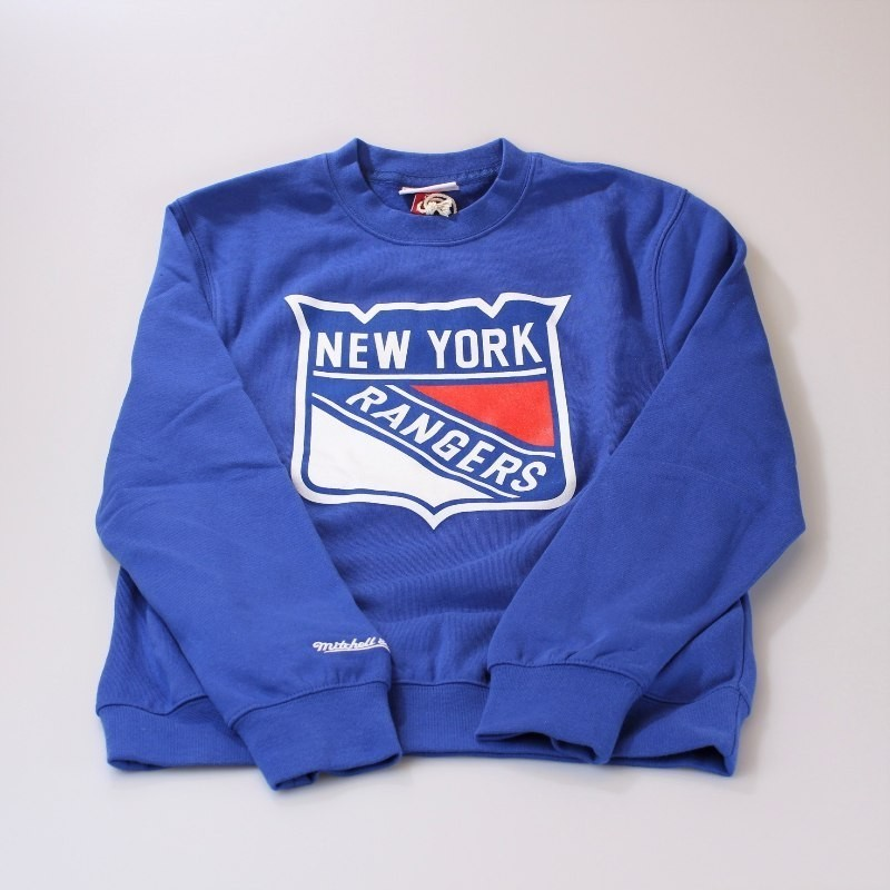New York Rangers Logo Crewneck