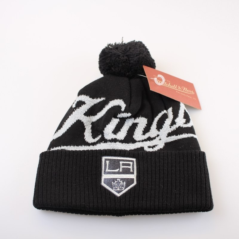 Los Angeles Kings Bobble Beanie KV98Z