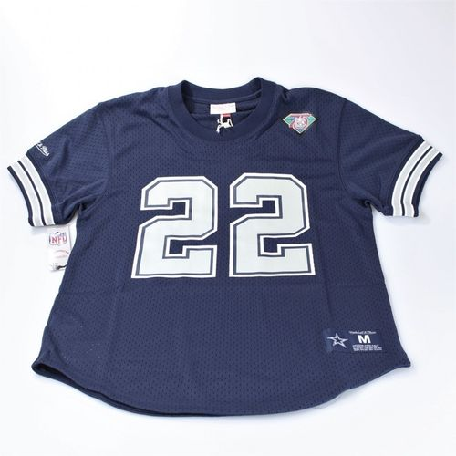 Dallas Cowboys Mesh Crewneck