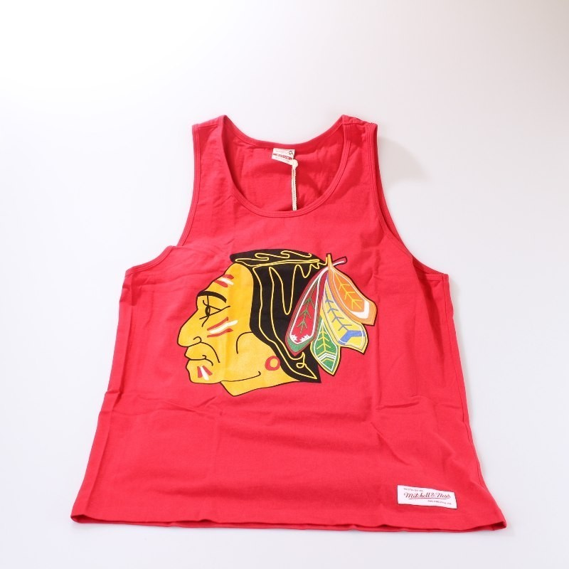 Chicago Blackhawks Team Logo Tank Top