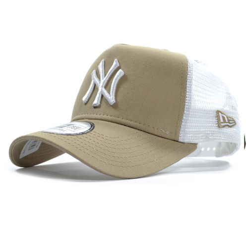 New York Yankees Beige Trucker, New Era