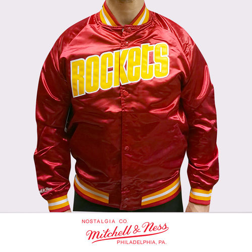 Houston Rockets Lightweight Satin Jacket