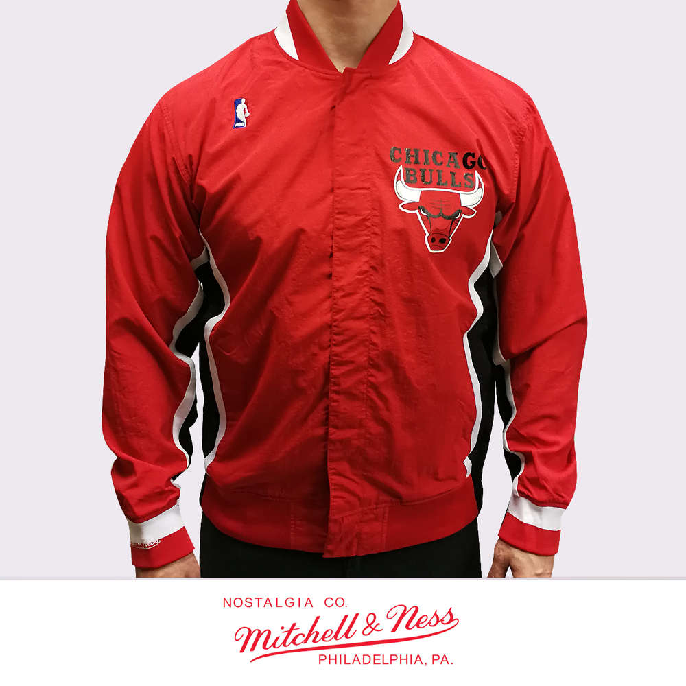 new concept 9592f 40fb2 Chicago Bulls Authentic Warm Up Jacket, Mitchell & Ness