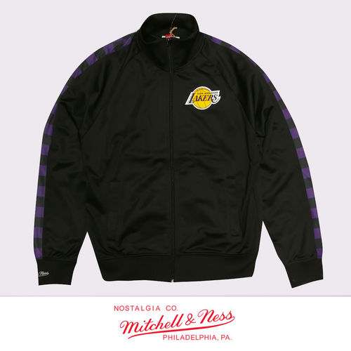 Los Angeles Lakers Track Jacket, Mitchell & Ness