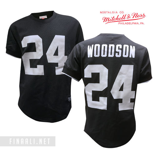Oakland Raiders Mesh Crewneck