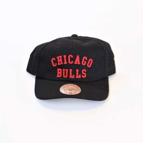Chicago Bulls Curved Strapback