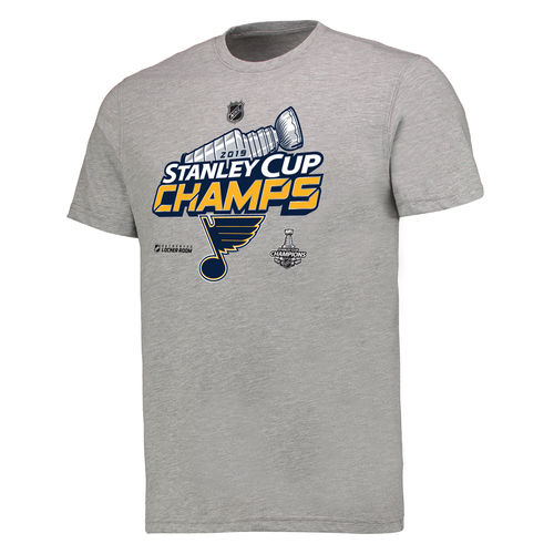 St. Louis Blues Champions 2019 t-paita