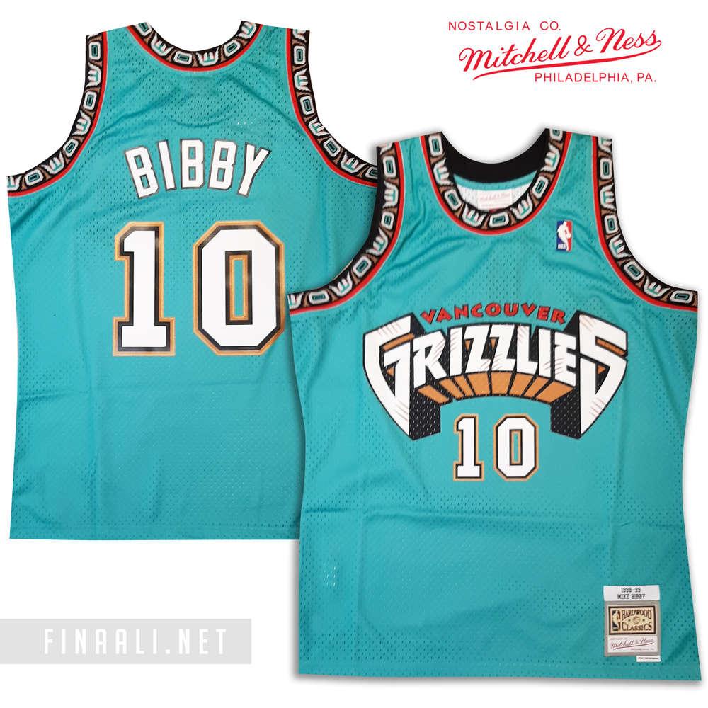 Vancouver Grizzlies Mike Bibby Swingman Jersey