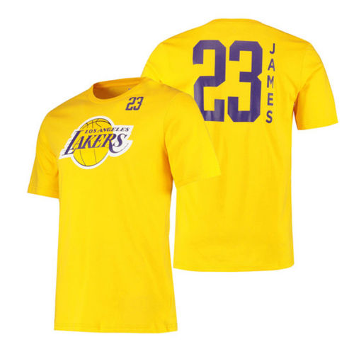 Los Angeles Lakers James #23 t-paita
