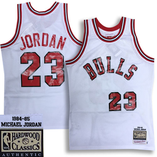 Chicago Bulls Michael Jordan 1984-85 Authentic Jersey