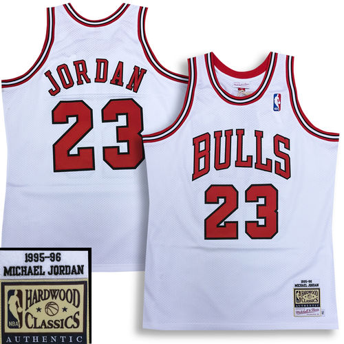Chicago Bulls Michael Jordan 1995-96 Authentic Jersey