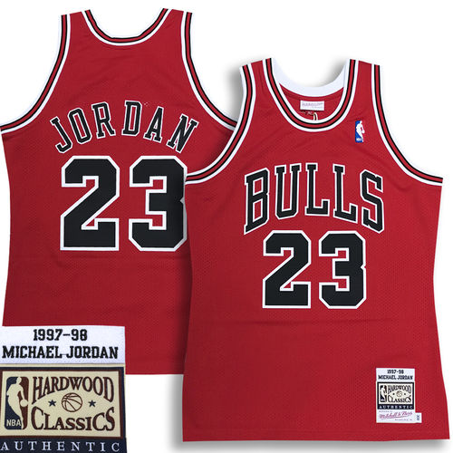 Chicago Bulls Michael Jordan 1997-98 Authentic Jersey