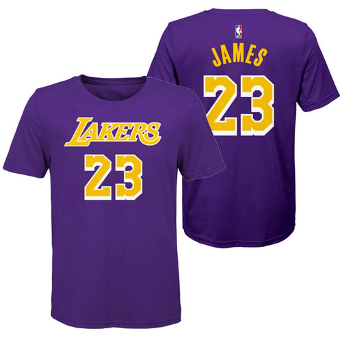 Los Angeles Lakers LeBron James t-paita, Youth
