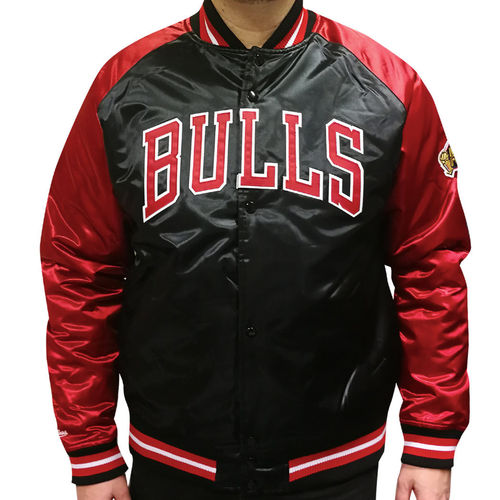 Chicago Bulls Tough Season Satin Jacket