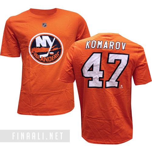New York Islanders t-paita Komarov, Youth