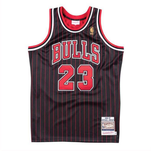 Chicago Bulls Michael Jordan 1996-97 Authentic Jersey